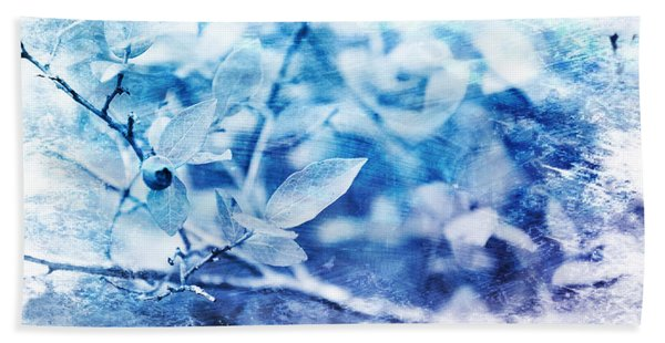 Blueberry Blues Beach Towel