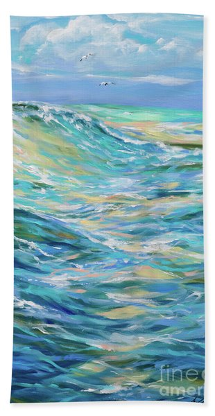 Bodysurfing North Beach Towel