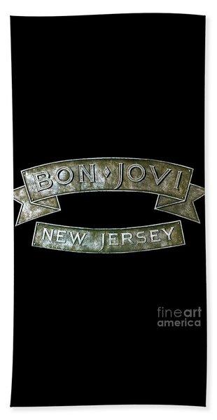 Bon Jovi New Jersey Beach Sheet