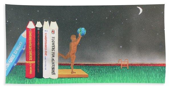 Books Of Knowledge Beach Sheet