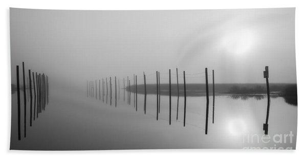 Breaking Through The Fog Beach Sheet