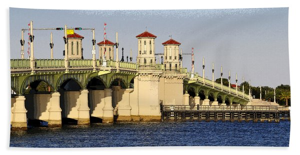 Bridge Of Lions Beach Towel