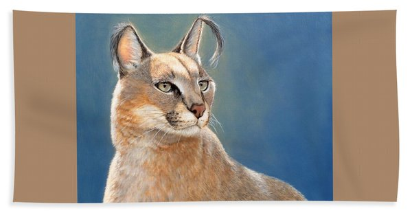 Bright Eyes - Caracal Beach Towel