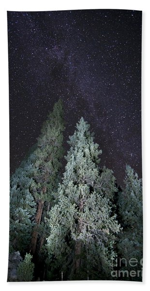 Bright Night Beach Towel