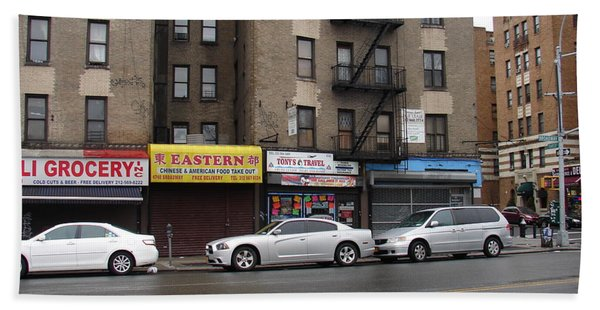 Broadway And Thayer Street In 2104 Beach Towel