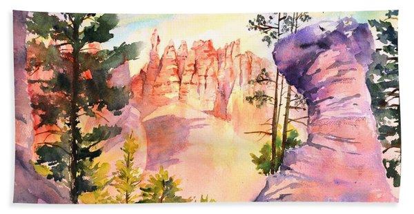 Bryce Canyon #4 Beach Towel
