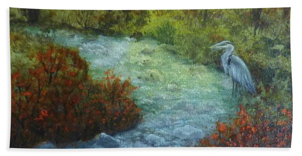 By The Brook Beach Towel