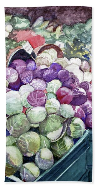 Cabbage Patch Beach Towel