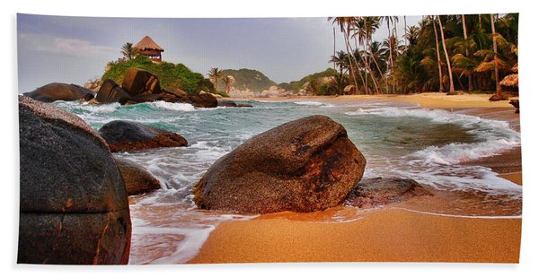 Beach Towel featuring the photograph Cabo San Juan by Skip Hunt
