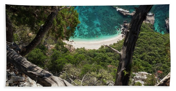 Cala Biriola Beach Towel