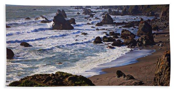 California Coast Sonoma Beach Towel