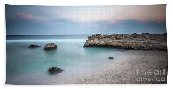 Calm Red Sea Beach Towel