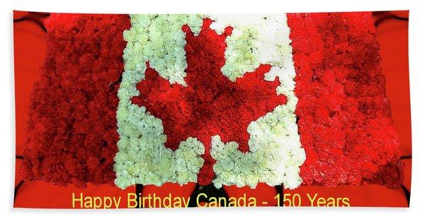 Canada 150 Years Beach Towel