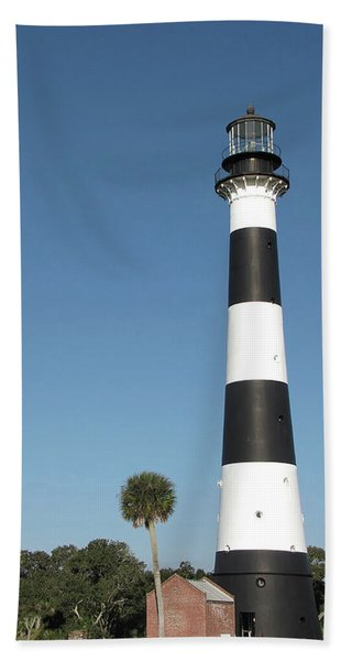 Cape Canaveral Lighthouse  Beach Towel