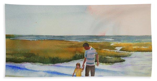 Cape Cod Sunset Beach Towel