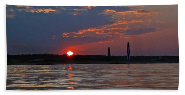 Cape Henry Sunset Beach Towel