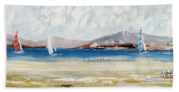 Cape Sailing Beach Towel