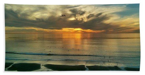 Carlsbad Beach  Beach Towel