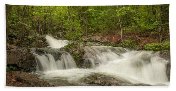 Cascades On The Brooks Falls Trail Beach Towel