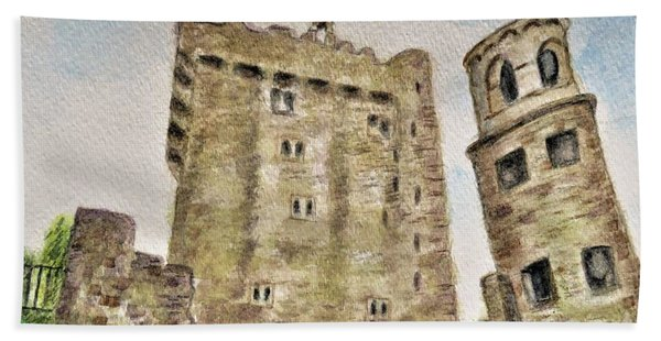 Castle Blarney Beach Towel