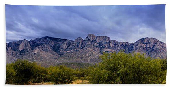 Catalina Mountains P1 Beach Towel
