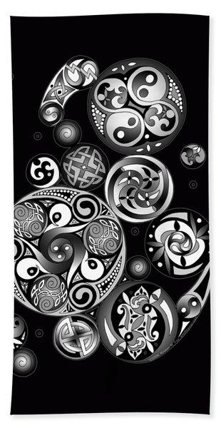Celtic Clockwork Beach Sheet