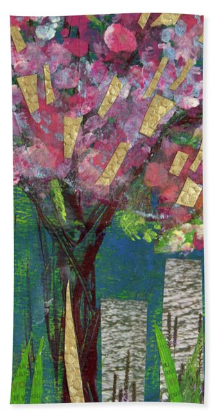 Cherry Blossom Too Beach Towel