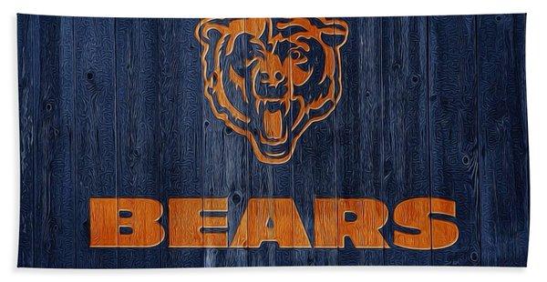 Chicago Bears Barn Door Beach Towel
