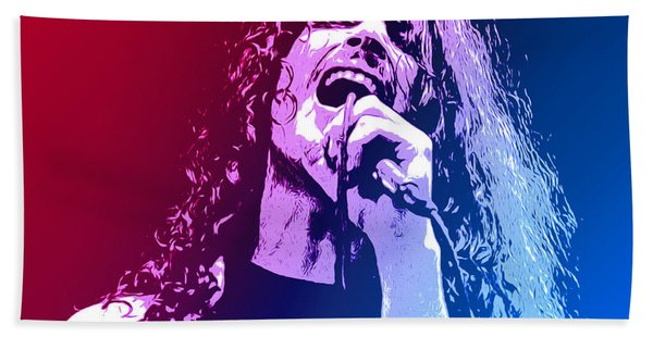Chris Cornell 326 Beach Towel