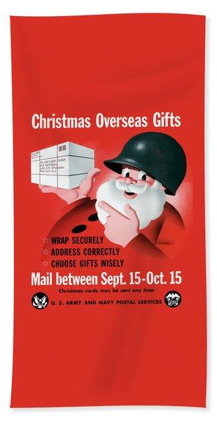 Christmas Overseas Gifts -- Ww2 Beach Towel