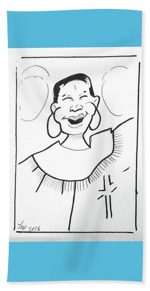 Church Lady 2 Beach Sheet