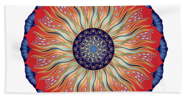 Circularium No. 2627 Beach Towel