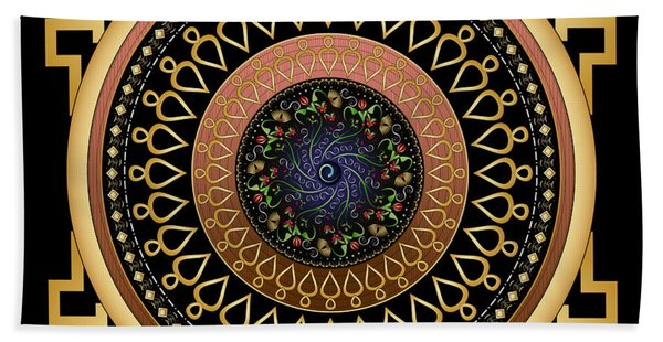 Circulosity No 2806 Beach Towel