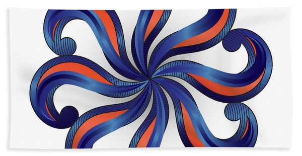 Circulosity No 2920 Beach Towel