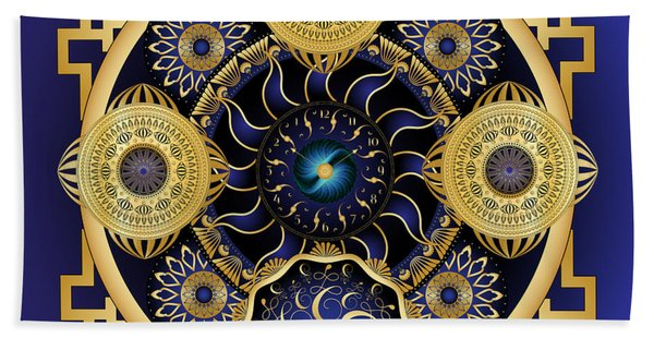 Circulosity No 3128 Beach Towel