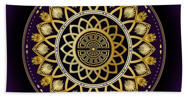 Circulosity No 3258 Beach Towel