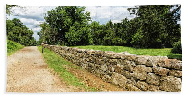 Civil War Battle Of Fredericksburg Beach Towel
