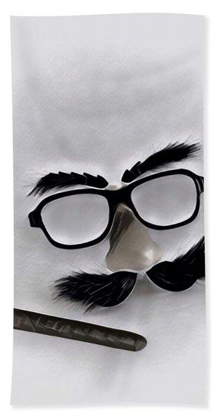 Classic Groucho Beach Towel