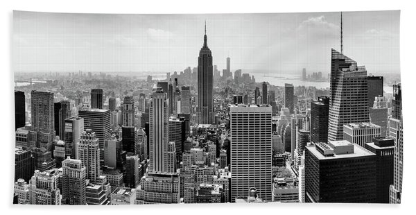 Classic New York  Beach Towel
