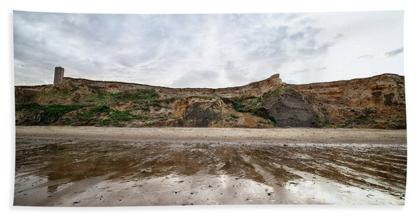 Cliff Reflections Beach Towel