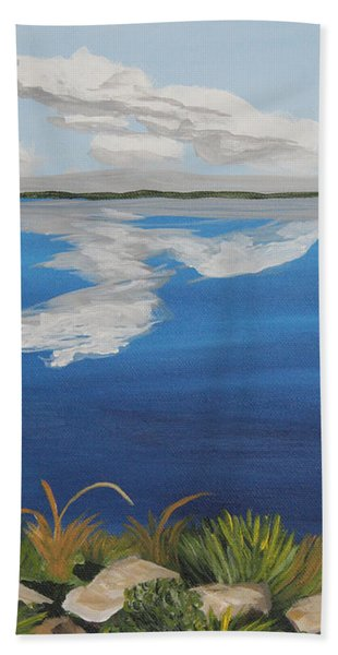 Cloud Lake Beach Towel