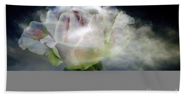 Cloud Rose Beach Towel