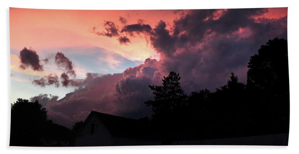 Clouds After The Storm Beach Towel