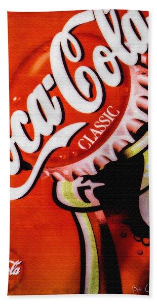 Coca Cola Classic Beach Towel