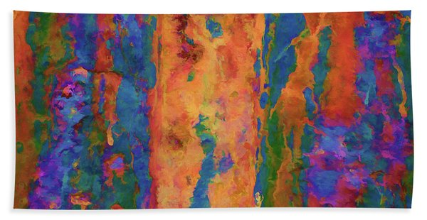 Color Abstraction Lxvi Beach Towel