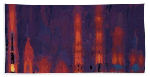 Color Abstraction Xxxviii Beach Towel