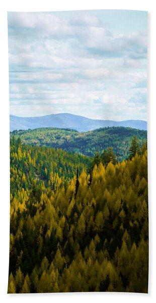 Colors Of Sherman's Pass Beach Towel