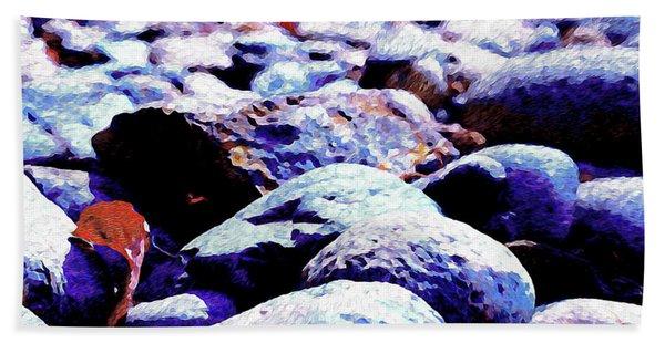 Cool Rocks- Beach Towel