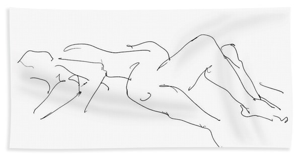Couples Erotic Art 4 Beach Towel
