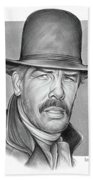 Cowboy Lee Marvin Beach Towel